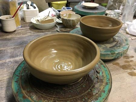 久しぶりの陶芸教室