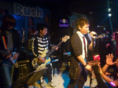 「Rush Christmas party@BIRTH」、行ってきたよ