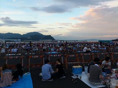 2012年の焼津海上花火大会