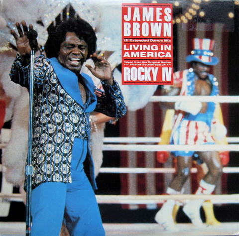 James Brown 『Living in America』