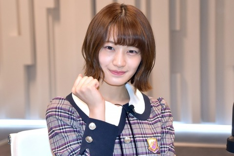 中田花奈 卒業発表