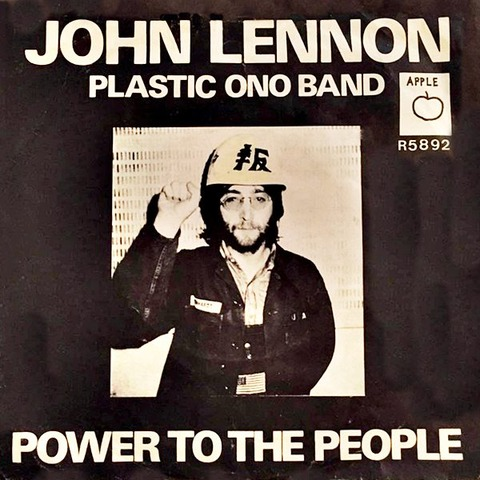 John Lennon Plastic Ono Band 「power_to_the_people」