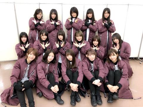 欅坂46「紅白」