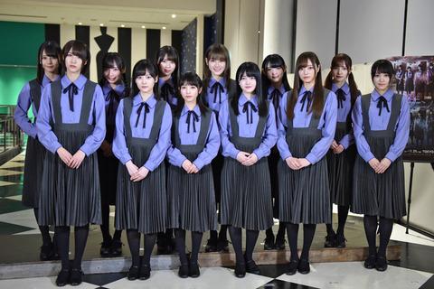 坂道シリーズ 2018年 楽曲ランキング一位(暫定版)