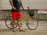 短パン自転車