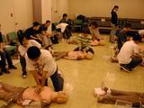 CPR講習風景