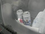 車内ビール?