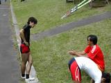 船木選手と田尾チーフコーチ