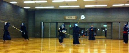 剣道稽古風景20120615