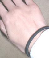 きりちゃんの手