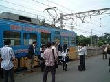 【メイドオフ】電車をバックにチェキ大会