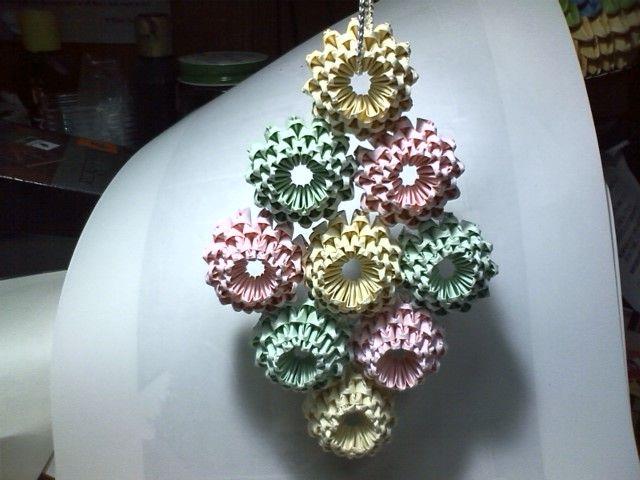 すべての折り紙 星 立体 折り紙 : ... 立体的な折り紙を作ります