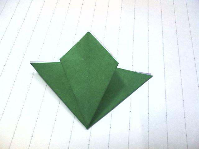 ハート 折り紙:折り紙クリスマスブーツ立体-divulgando.net
