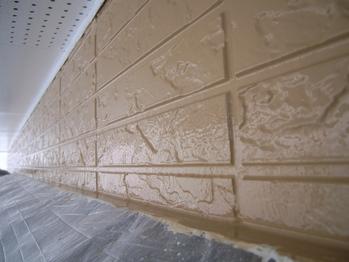 1階外壁塗装の仕上がりアップ