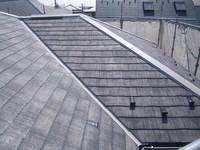 カラーベスト屋根シーラー塗装後