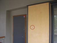 戸袋鏡板の傷
