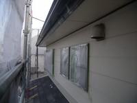 2階窓養生