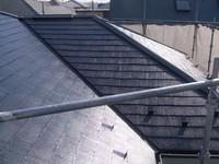 カラーベスト屋根塗装完了
