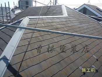 カラーベスト屋根施工前(北面)