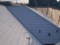 カラーベスト屋根シーラー2回目塗装後