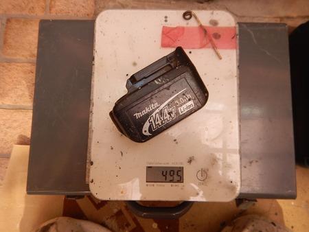 マキタの14.4Vバッテリー