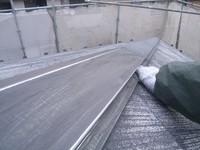カラーベスト屋根板金部分のケレ
