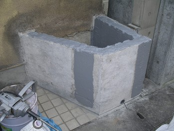 花壇ウレタン防水