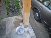 防カビ薬品塗付