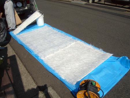 FRP防水用ガラスマット