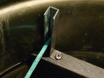 ペール缶刷毛保管容器 目地刷毛用部分
