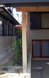 2番の柱の南面