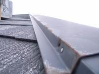 カラーベスト屋根板金部分の錆び
