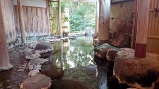 七滝温泉ホテル小露天1