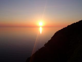 知床の夕陽3