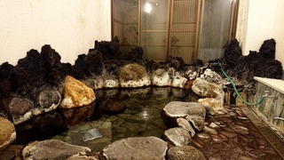 七滝温泉ホテル内湯岩風呂