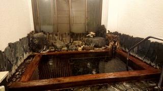 七滝温泉ホテル内湯檜風呂