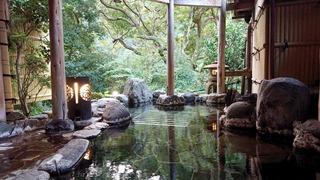 七滝温泉ホテル小露天2