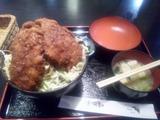 ソースヒレカツ丼