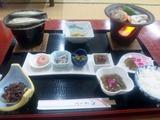 大釜温泉夕食1