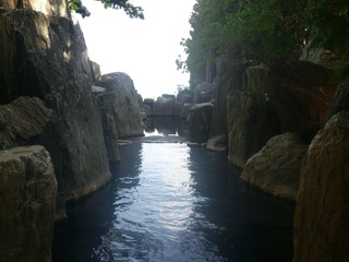 庭園露天風呂鹿泉の湯4