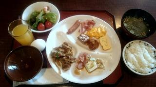 ほてる大橋館の湯の朝食