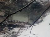 黒湯温泉上の湯源泉口