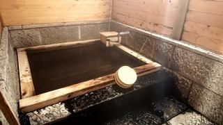 ふもと旅館檜貸切風呂1