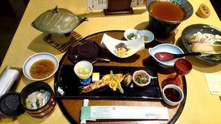 霧島ホテル夕食1