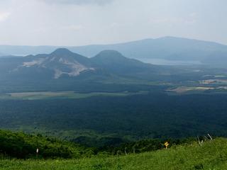 硫黄山と屈斜路湖2