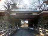 高島城冠木門