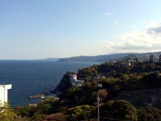 ハートピア熱海からの景色