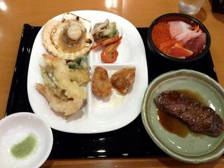 鶴雅ウィングスの夕食1