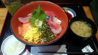 日本坂海鮮丼