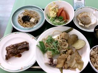 ホテル知床の夕食1